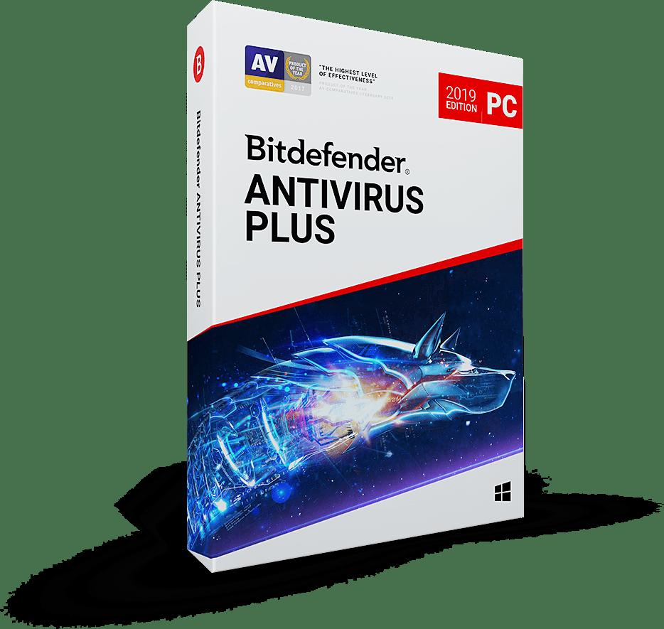 Bitdefender Antivirus Plus 2 years 1 PC