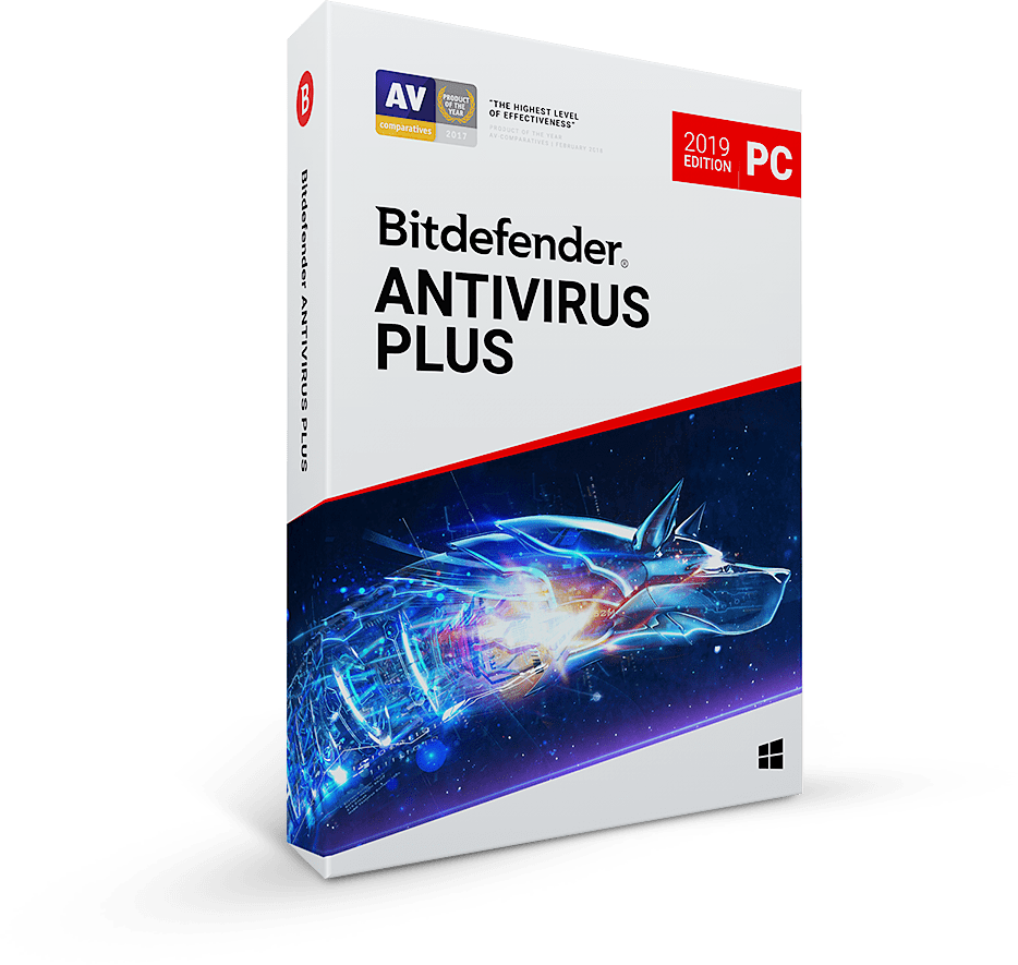 Bitdefender Antivirus Plus 1 year 1 PC