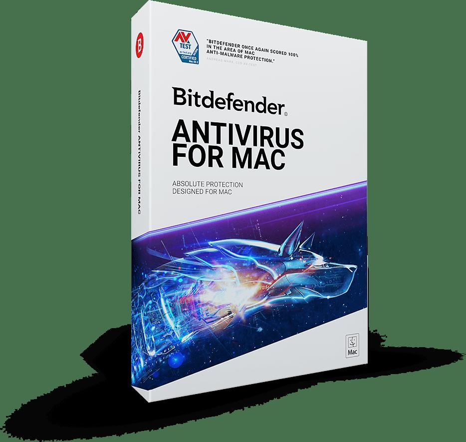 Bitdefender Antivirus  for Mac 2 years 1 Mac