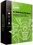 Dr. Web Security Space - for 5 computers , for 6 months
